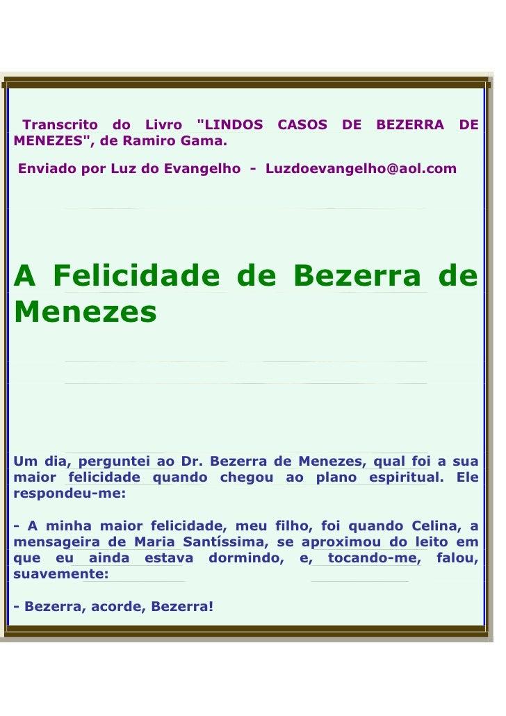 Extremamente Bezerra de Menezes - O Médico dos Pobres IG89