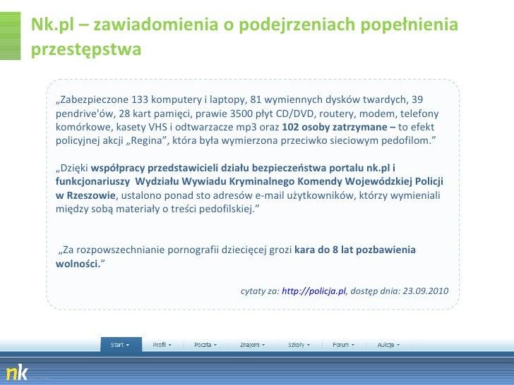 """Nk.pl – zawiadomienia o podejrzeniach popełnienia przestępstwa """" Zabezpieczone 133 komputery i laptopy, 81 wymiennych dysk..."""