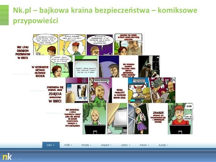 Nk.pl – bajkowa kraina bezpieczeństwa – komiksowe przypowieści