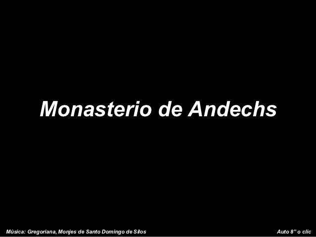 "Monasterio de AndechsMúsica: Gregoriana, Monjes de Santo Domingo de Silos   Auto 8"" o clic"