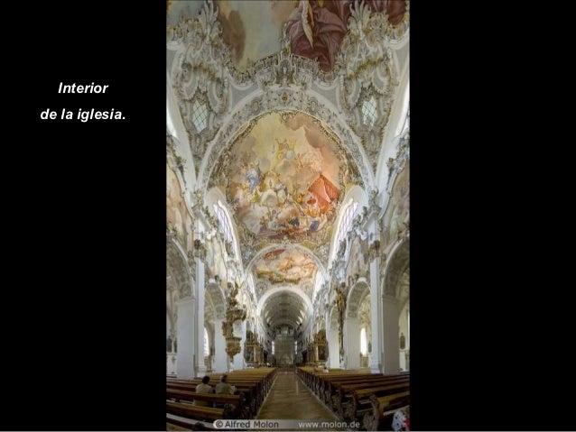 Interiorde la iglesia.