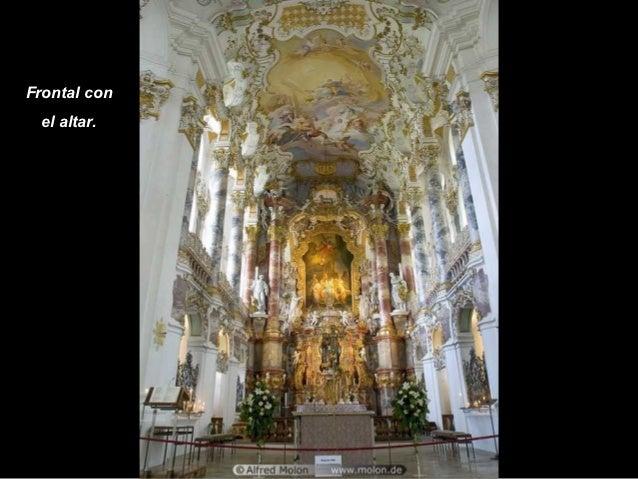 Frontal con el altar.