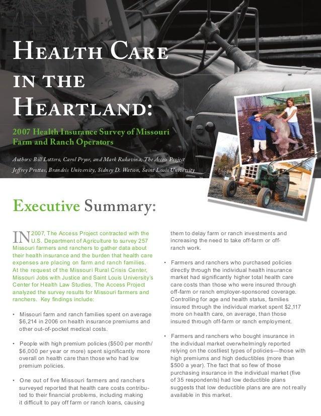 Healthcare In The Heatland