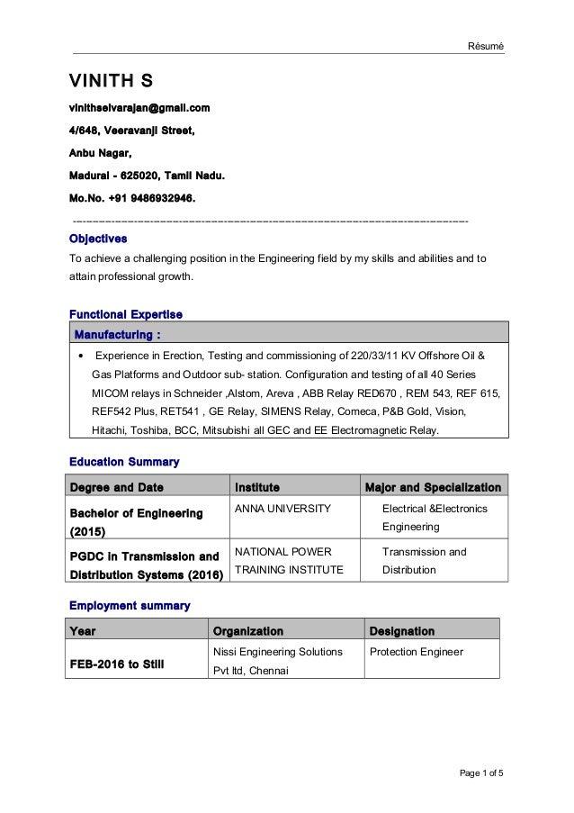 Vinith s resume rsum vinith s vinithselvarajangmail 4648 veeravanji street swarovskicordoba Images
