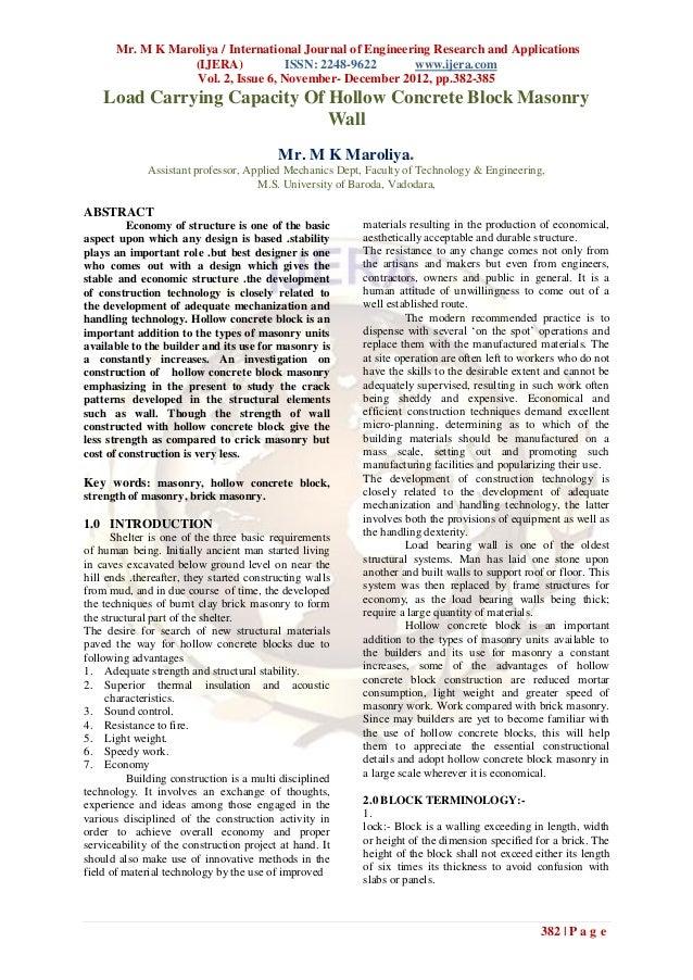 Mr. M K Maroliya / International Journal of Engineering Research and Applications                   (IJERA)           ISSN...
