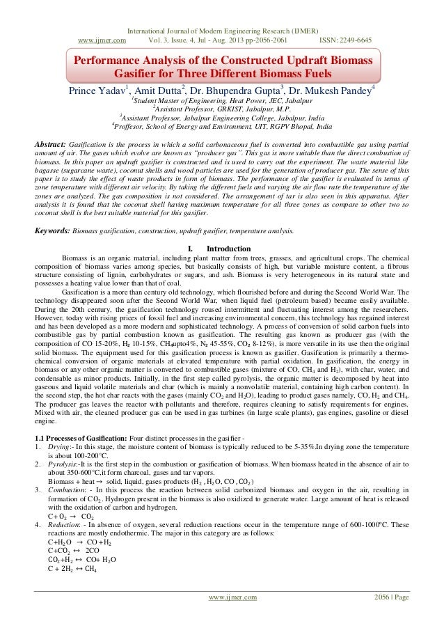 International Journal of Modern Engineering Research (IJMER) www.ijmer.com Vol. 3, Issue. 4, Jul - Aug. 2013 pp-2056-2061 ...