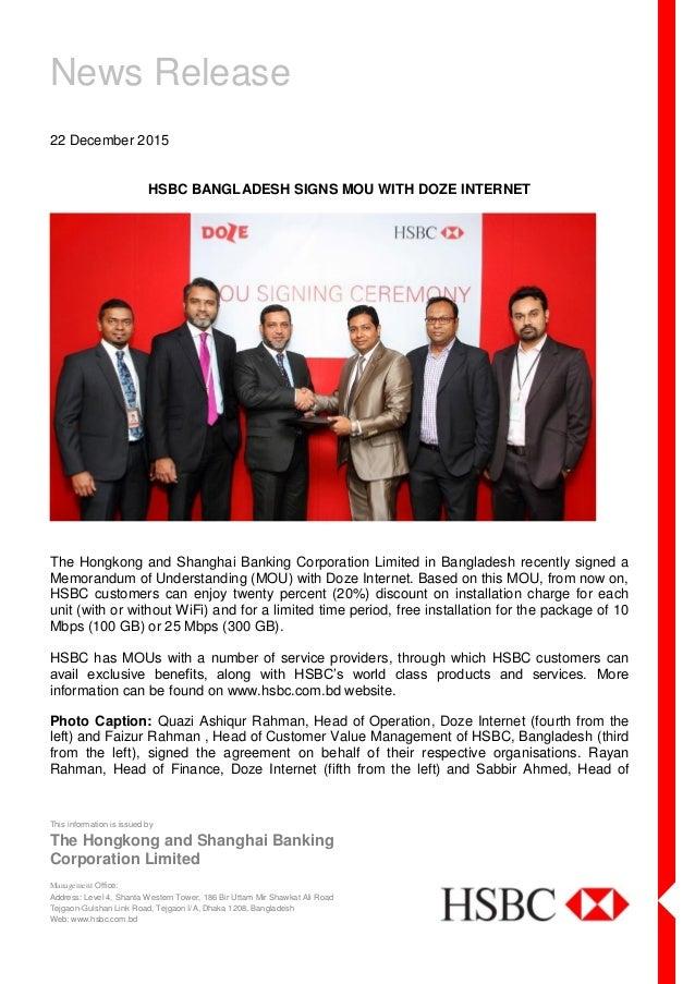 hsbc-bangladesh-signs-mou-with-doze-internet