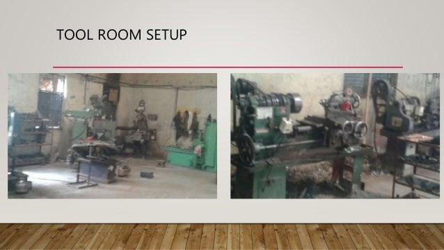 Tool room setup for Room setup tool