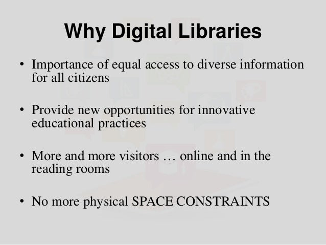 Creation of Digital Libraries using Open Source Software Slide 3