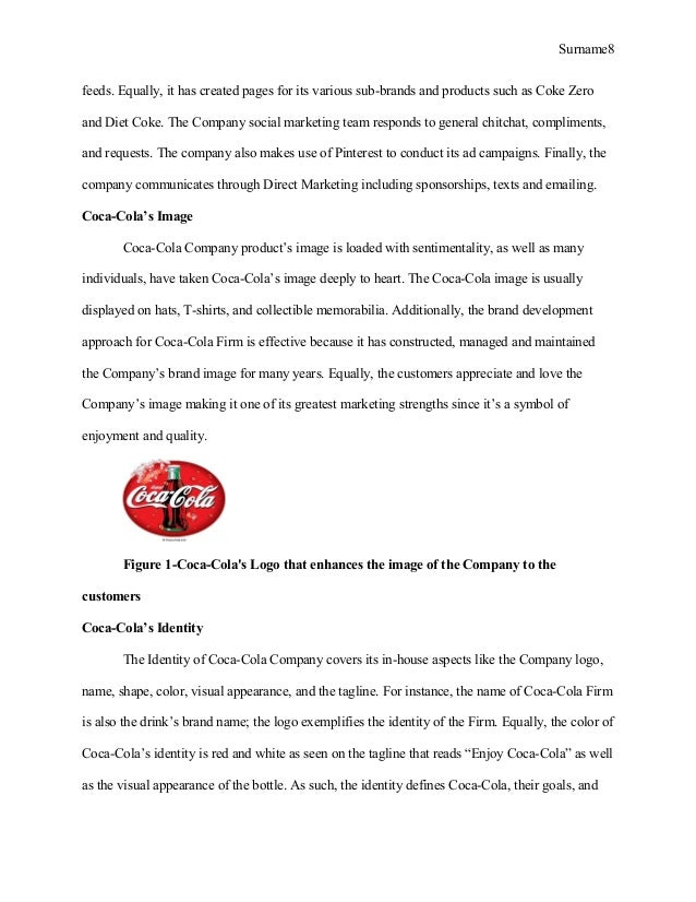 Coca Cola Company Background Information Suppliers Stakeholders And