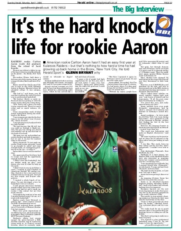 Carlton Aaron Carlton Aaron feature