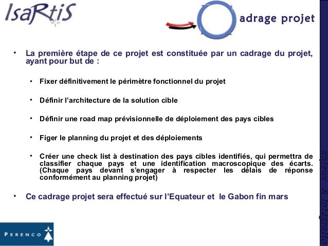 Enjeux&IntégrationEnjeux&Intégration Cadrage projet • La première étape de ce projet est constituée par un cadrage du proj...