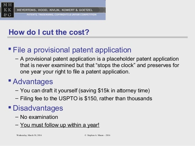 how to write a provisional patent Learn how to file for a provisional patent on your inventions without paying thousands of dollars to a patent lawyer instead of using a simple lifetime average, udemy calculates a course's.