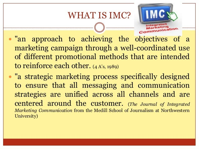 Integrated Marketing Communication1