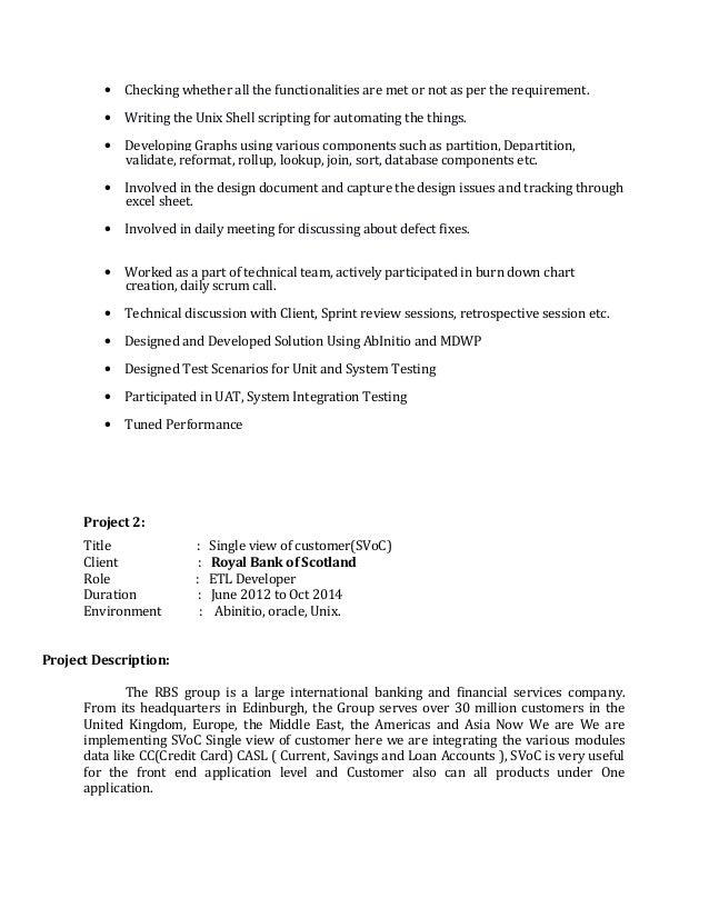 Abinitio Experienced resume-Anilkumar