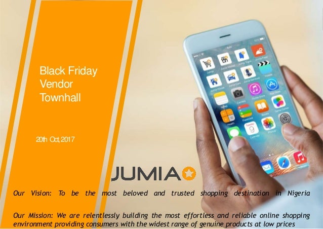 Jumia black friday Information for Phones & Tablet