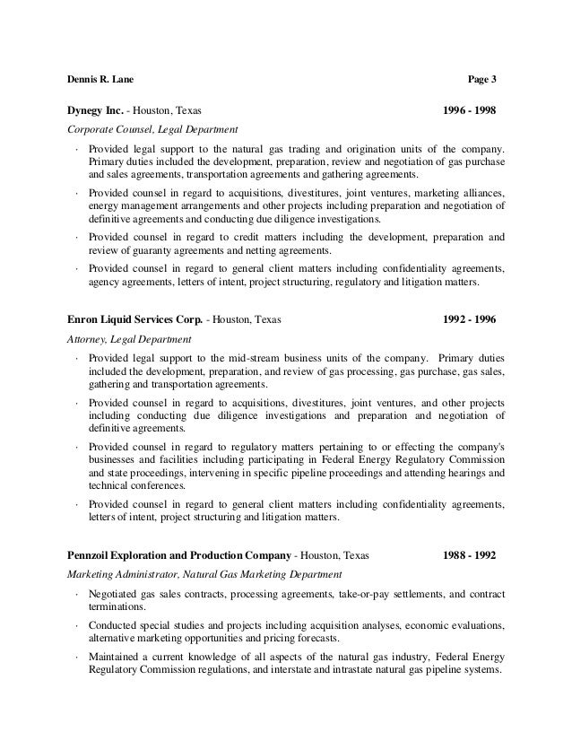 Awesome Energy Regulatory Resume Photo - Best Resume Examples by ...