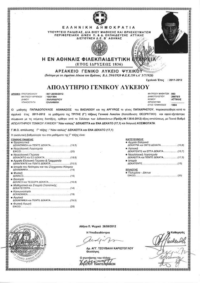 certificate leaving secondary upper slideshare
