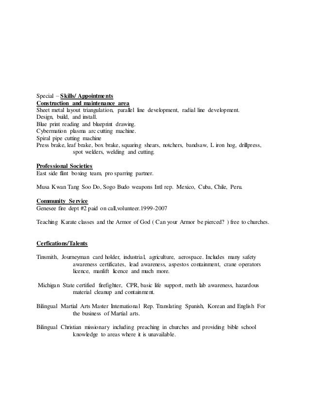 fred luna resume bilingual addition including personal statement 1 a