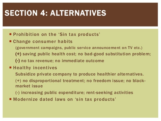 sin taxes are one of the Sin taxes set to affect usvi as bir announces increase in excise taxes he also combined the projected $8 million from the sin taxes but the one which fits.