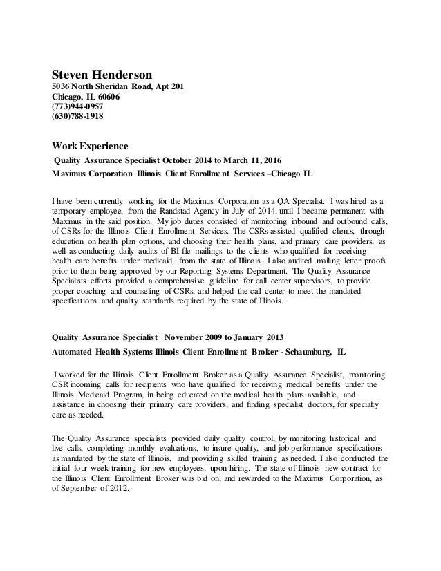 steven henderson updated resume 03202016