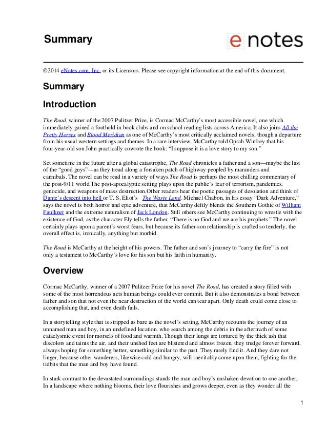 Summary ©2014 eNotes.com, Inc. or its Licensors. Please see copyright information at the end of this document. Summary Int...