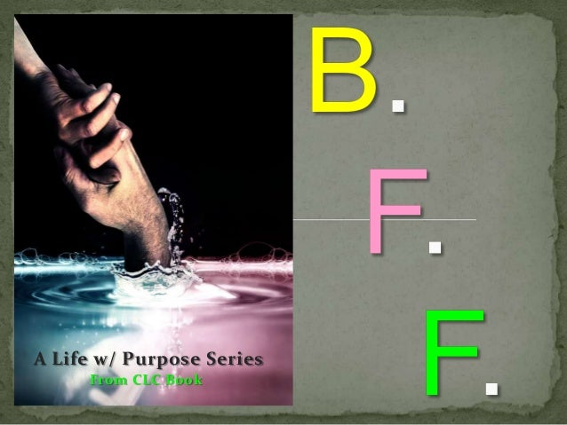 A Life w/ Purpose Series From CLC Book