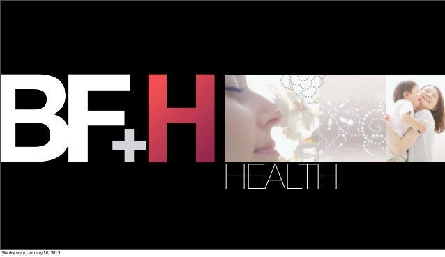 HEALTHWednesday, January 16, 2013