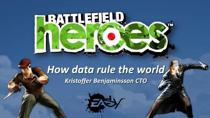 How data rule the world<br />Kristoffer Benjaminsson CTO<br />