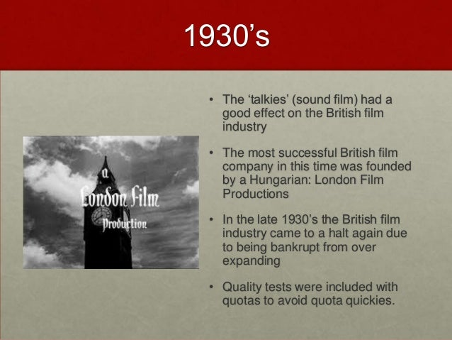 a history of the british cinema The journal of british cinema and television is indispensable for anyone   porter and justin smith (eds), the routledge companion to british cinema  history.
