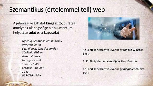 A szemantikus adatpublikáció gyakorlati kérdései - tények és mítoszok Slide 3