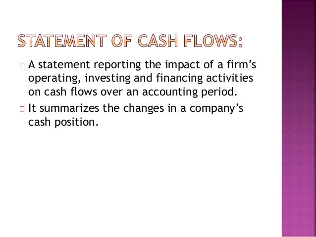 earnings and cash flow essay Two essays on earnings: investors' perception of their importance and the   these earnings announcements allow investors to incorporate firm cash flow.