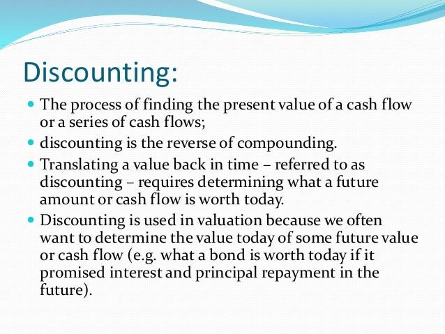 time value of money and risk The time value of money means a dollar today is worth more than a dollar in the like default risk, which is when you are promised money in the over time, that.