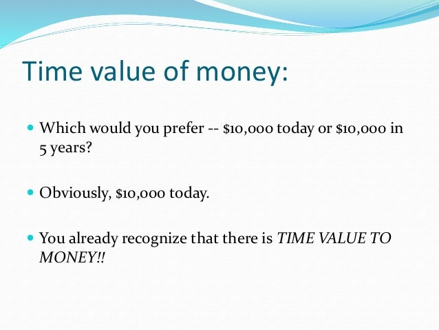 time value of money The time value of money is a foundational investment concept seeking alpha  authors need to thoroughly explore and understand the link.