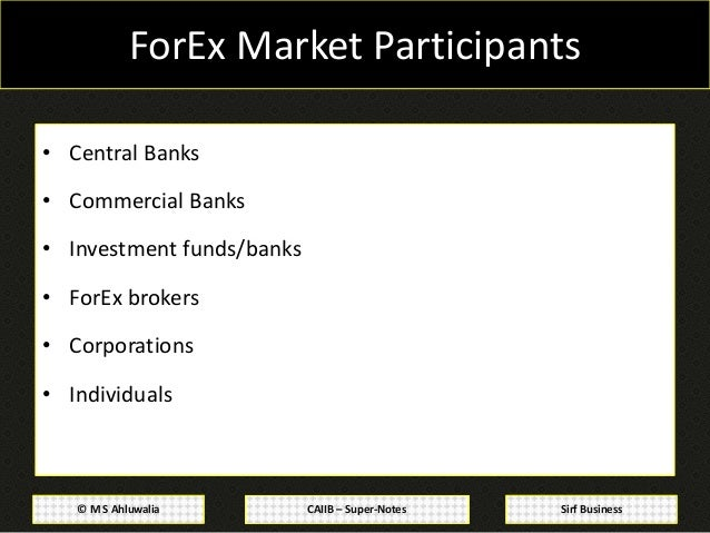 Forex management notes for cs