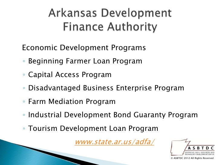 Business Financing Options Workshop May 22nd