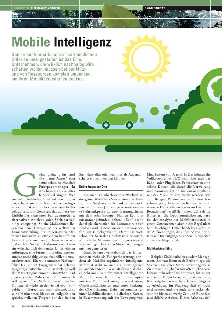 EcoLibro: Mobile Intelligenz