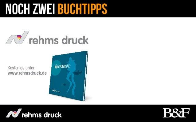 Noch zwei BuchTippsKostenlos unterwww.rehmsdruck.de