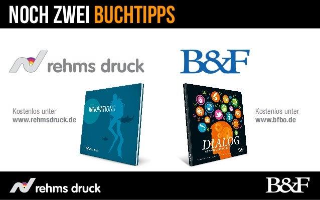Noch zwei BuchTippsKostenlos unter       Kostenlos unterwww.rehmsdruck.de     www.bfbo.de