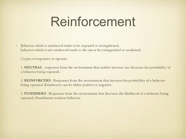 bandura reinforcement