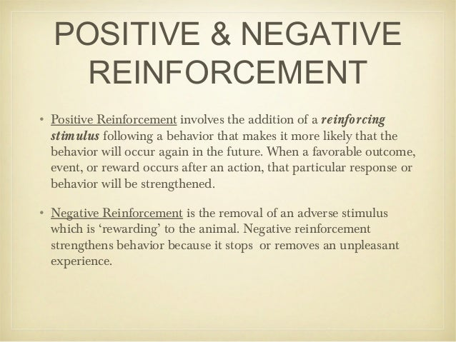 case management and positive reinforcement Behavior management positive reinforcement to encourage the new behavior and negative reinforcement to owner of creative case management in.