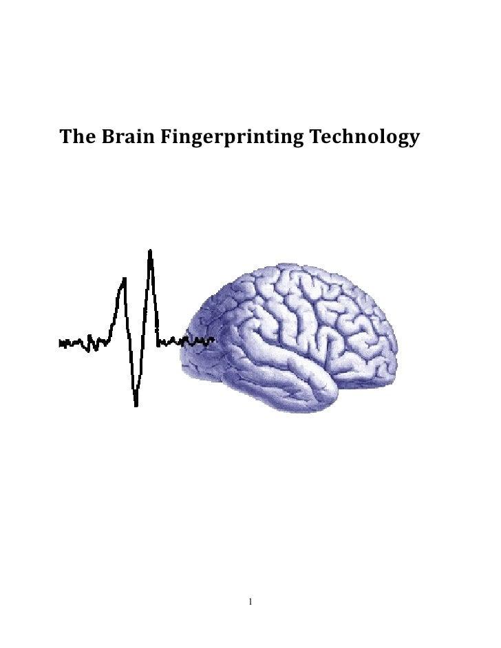 The Brain Fingerprinting Technology                  1