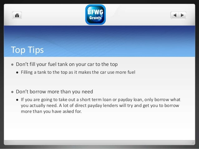 Top Tips  Don't fill your fuel tank on your car to the top  Filling a tank to the top as it makes the car use more fuel ...