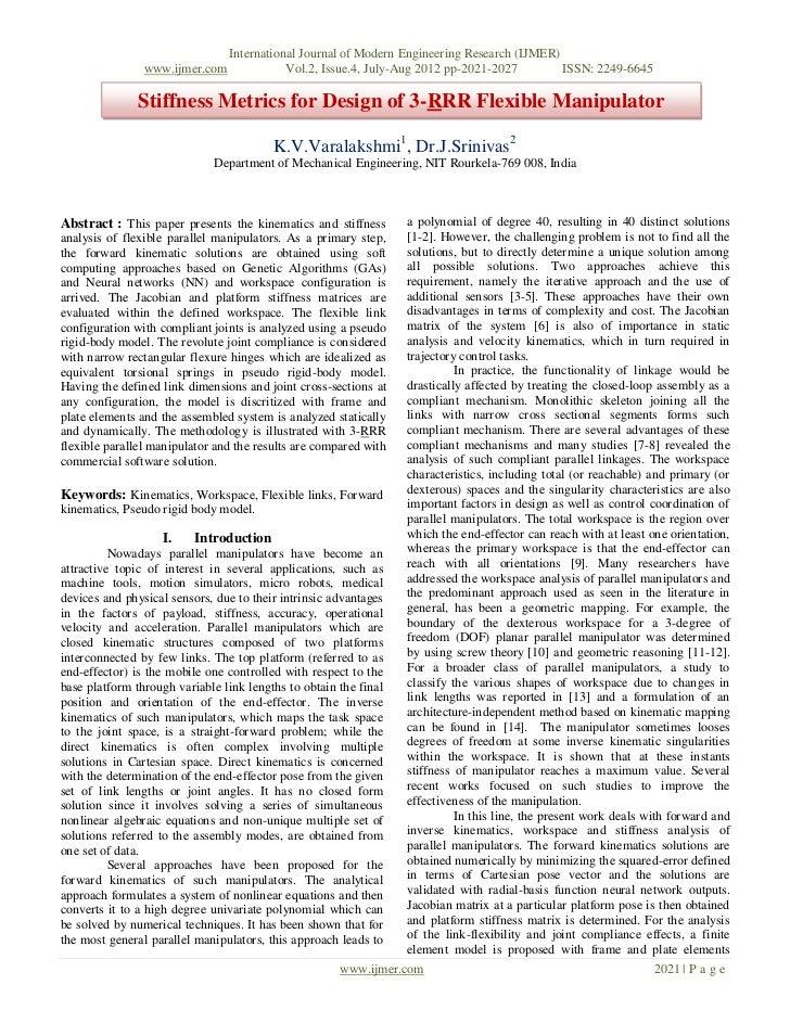 International Journal of Modern Engineering Research (IJMER)                www.ijmer.com              Vol.2, Issue.4, Jul...