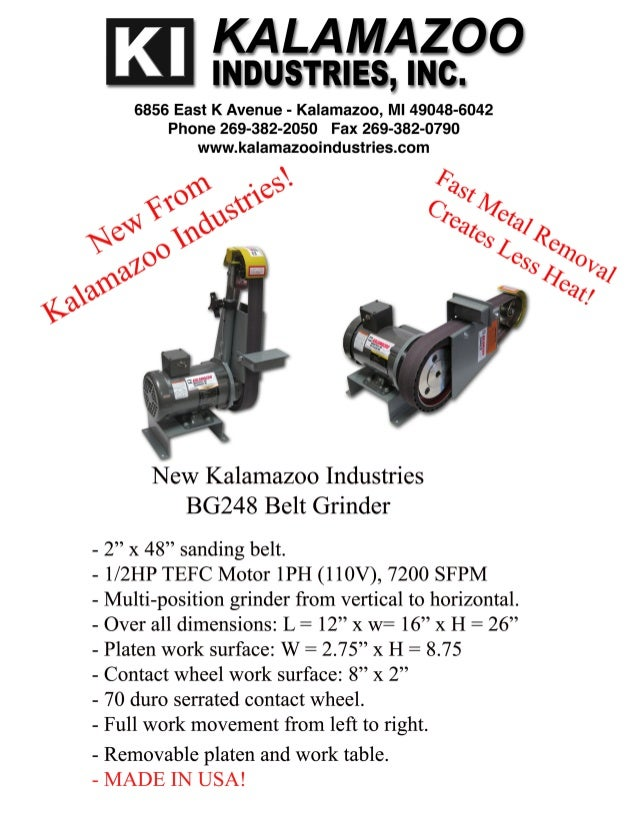 Kalamazoo Industries BG248