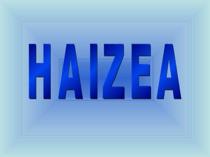 HAIZEA