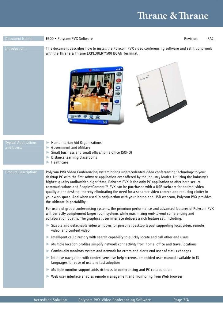 bgan video conferencing using polycom rh slideshare net