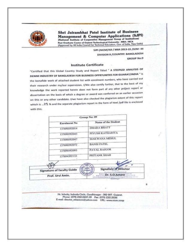 Peslte analysis of gujarat
