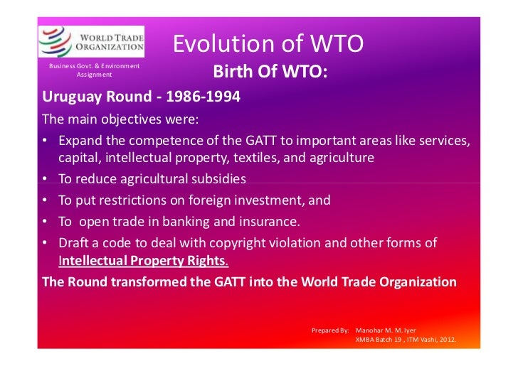 an analysis of the antidumping and the world trade organization in the nineties Wto: antidumping in the doha development agenda summary at the  november 2001 ministerial meeting of the world trade organization.