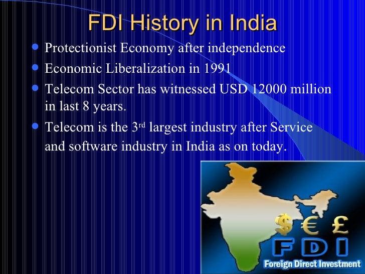 fdi in different type of economy
